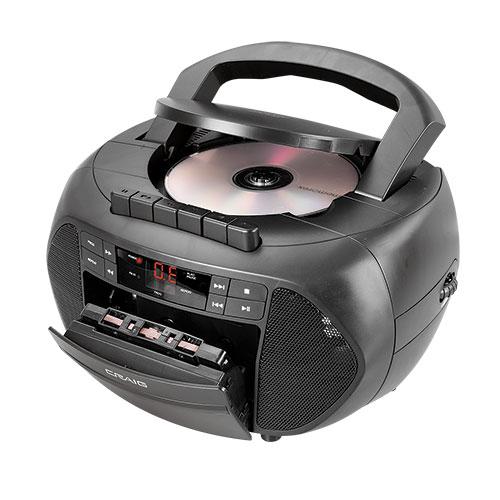 Craig CD/Cassette Boombox