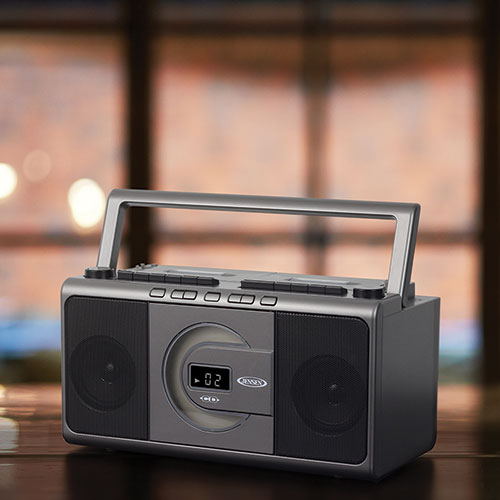 Jensen Portable CD/Cassette Player/Recorder