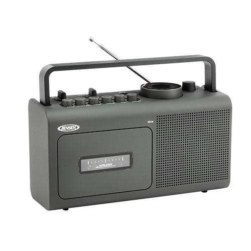 Jensen MCR-250 AM/FM Cassette Player/Recorder