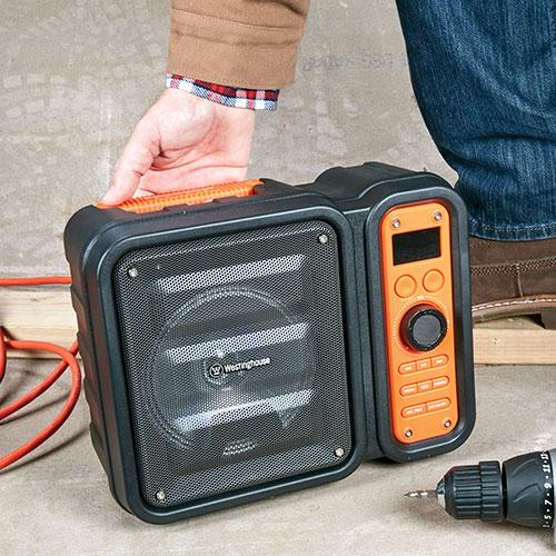 Westinghouse Wireless Workshop Speaker with FM Radio