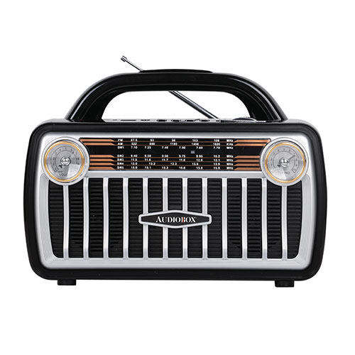 Audiobox RX-511BT Retro Bluetooth 7-Band Radio