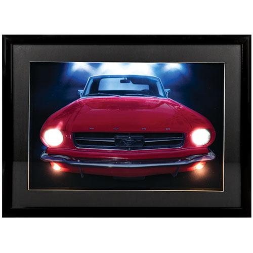 3D LED Wall Art - Mustang