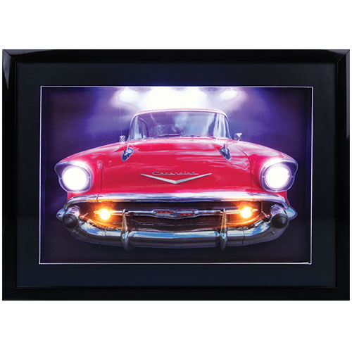 3D LED Wall Art - Bel Air