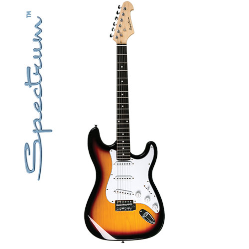 Spectrum Full Size Maple Electric Guitar