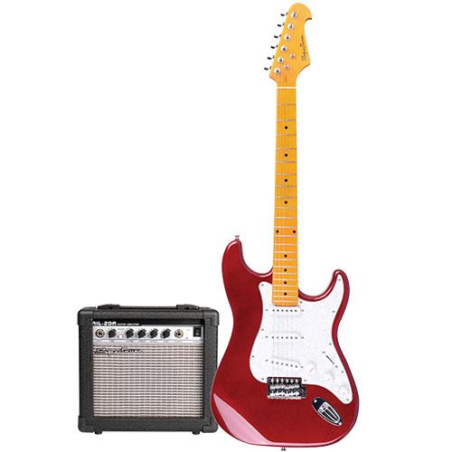 Spectrum AIL 278C Electric Guitar & AMP - Red