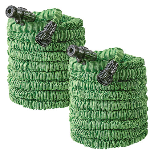 Flex-Able Hose 50 foot Garden Hose - 2 Pack