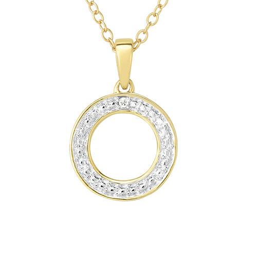 Jilco Diamond Geometric Necklace