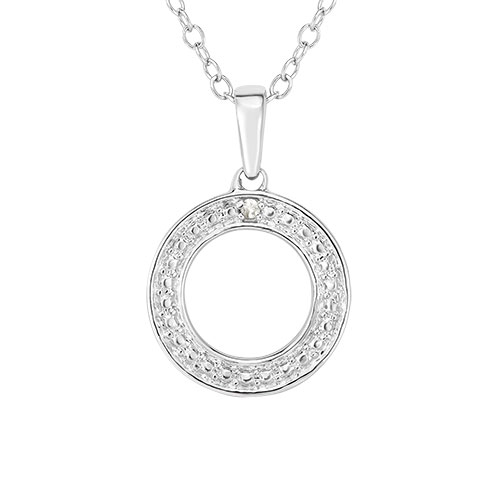 Jilco Diamond Geometric Necklace