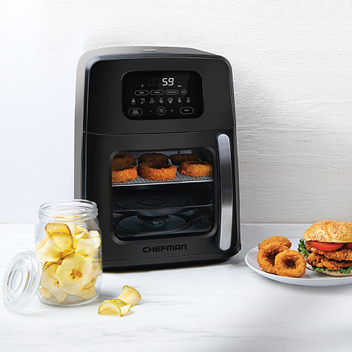 Chefman 11.6-Quart Auto-Stir Air Fryer