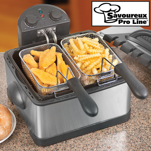 Dual Deep Fat Fryer