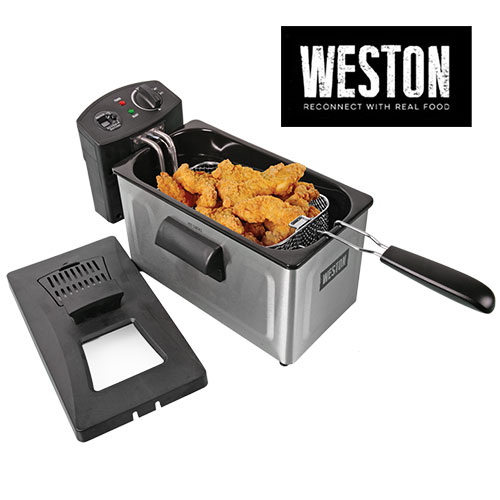 Weston Deep Fryer With 12-Cup Capacity