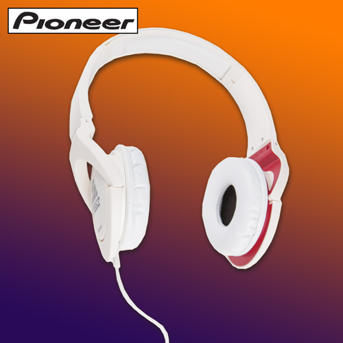 Pioneer Steez Headphones - White