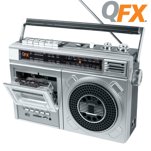 QFX 4-Band Radio/Cass Recorder
