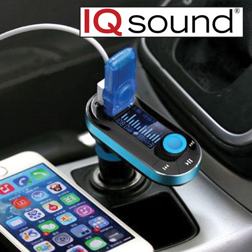 IQ Sound Bluetooth FM Transmitter