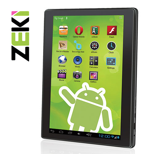 Zeki Dual Core Tablet