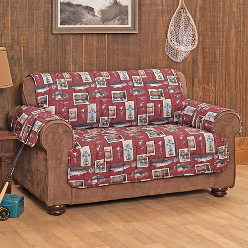 Gone Fishin' Furniture Cover