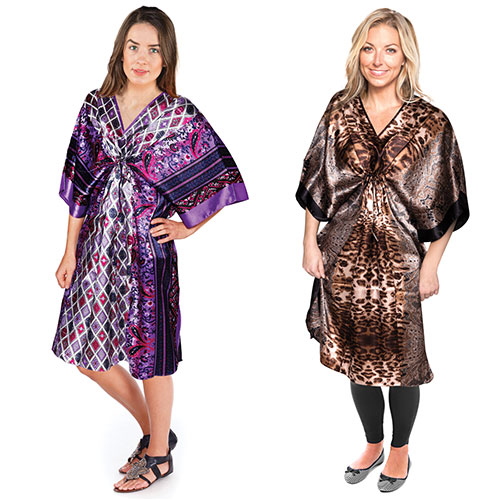 2 Pack Short Caftans
