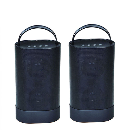 Indoor/Outdoor Bluetooth Speaker Pair