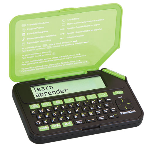 Franklin TES-300 Spanish English Translator