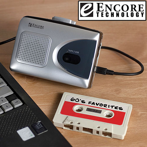 Encore Technology Portable Cassette Converter