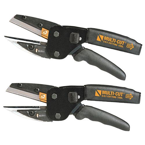 Multicut 3-in-1 Cutting Tools - 2 Pack