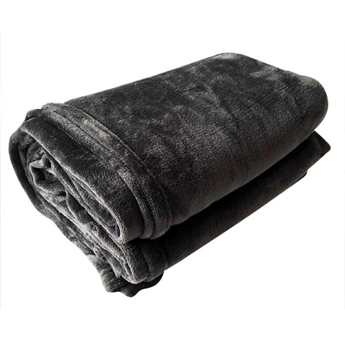 Softie Brand Charcoal Plush Blanket