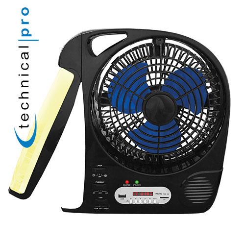 Technical Pro Fan with Speaker