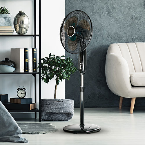 Black & Decker Dual-Blade Stand Fan