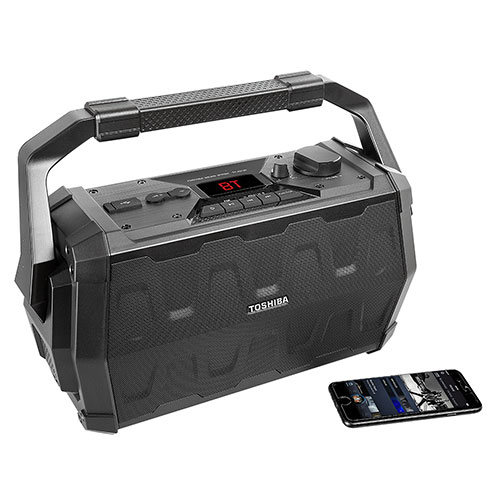 Toshiba Rugged Wireless Bluetooth Portable Speaker