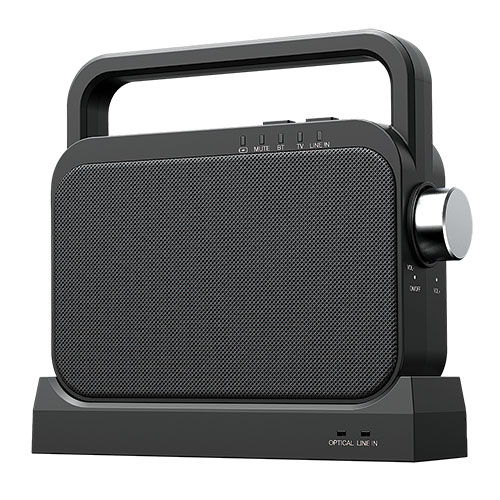 Coby Portable Wireless Amplified TV Speaker