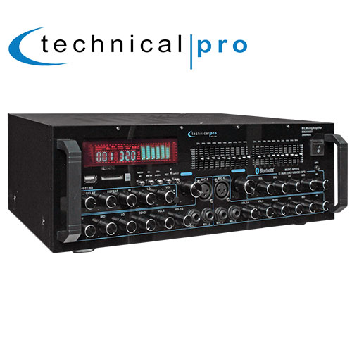 Technical Pro Mixing Amphlifier