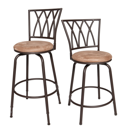 Adjustable Height Bar Stool - Set of 2