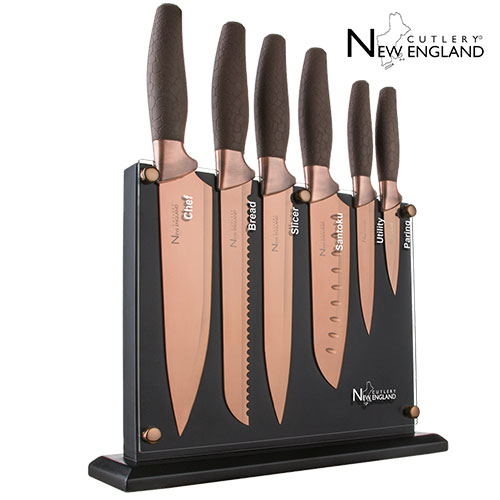 New England Cutlery 7 Piece Knife Set