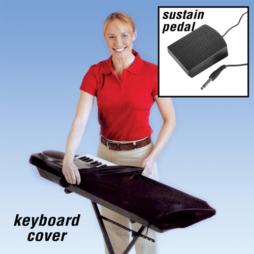 Dust Cover/Sustain Pedal Combo