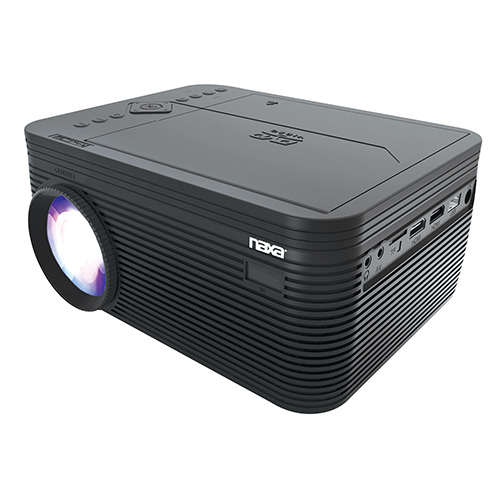 Naxa 150 inch Home Theater Projector with DVD Player