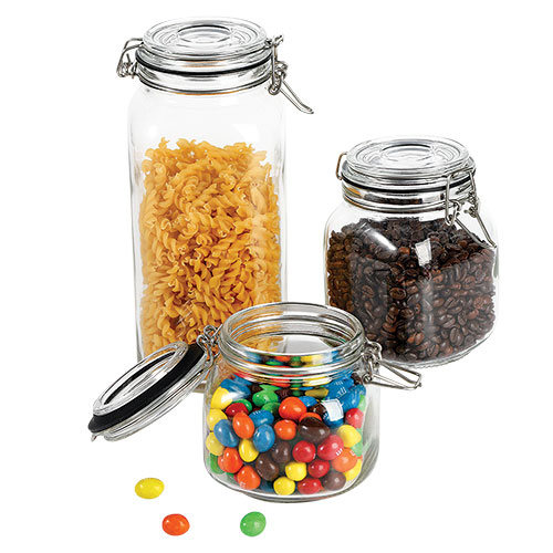 Culinary Edge Glass Mason Jar 6 Piece Set