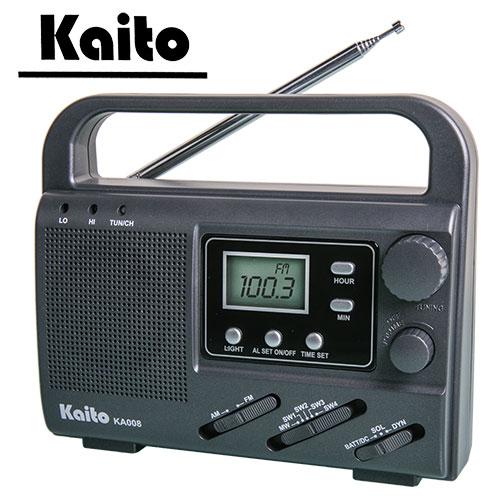 Kaito Portable Emergency 4-Way Radio