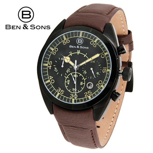 Ben & Sons Black Dial Watch