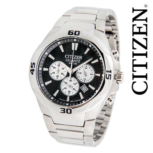 Citizen Quartz Stainless Chrono Watch