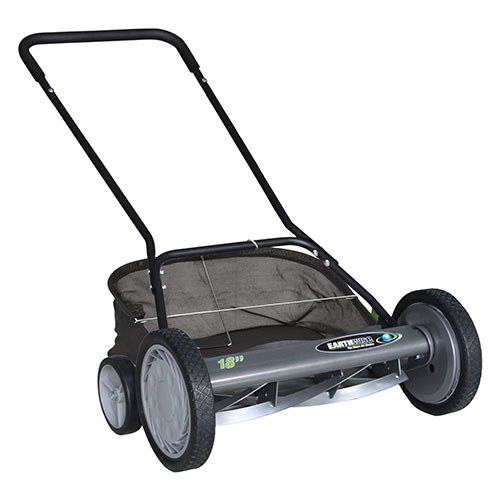 Earthwise 18-Inch 5-Blade Push Reel Lawn Mower