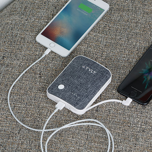 TYLT Xcele 3 Portable Charger with Adapters