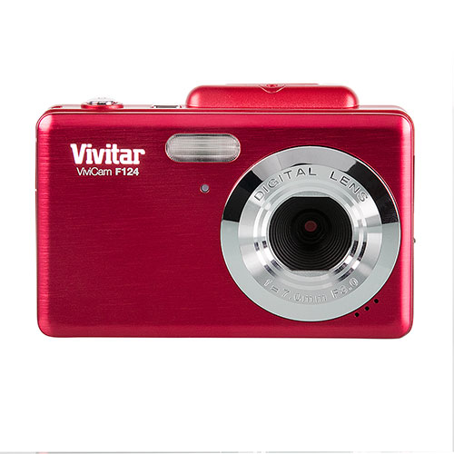 Vivitar 14MP Red Camera with Flip Screen
