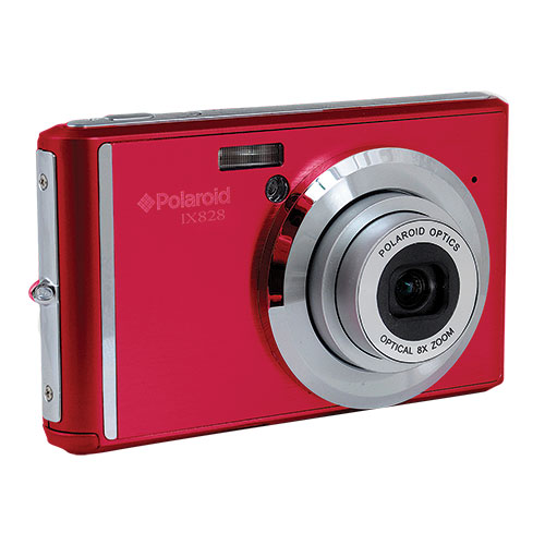 Polaroid 20.1MP/8X Zoom Red Digital Camera