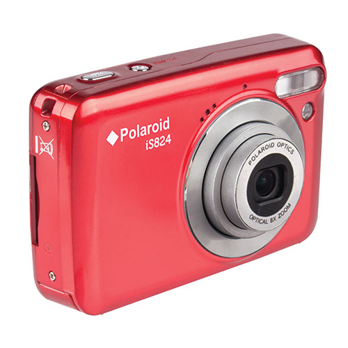 Polaroid Red 16MP 8x Zoom Camcorder