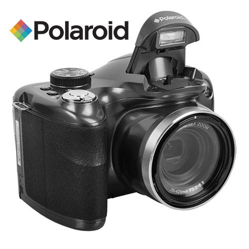 Polaroid iE1530W 18.1MP 15x Zoom Camera - Black