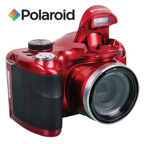 Polaroid iE1530W 18.1MP 15x Zoom Camera - Red