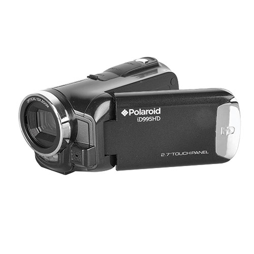 Polaroid ID995HD Full HD 1080p 32GB Flash Memory SDHC/SD Camcorder with 12x Optical Zoom & 2.7