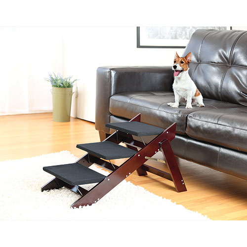 2-In-1 Wooden Pet Steps and Ramp