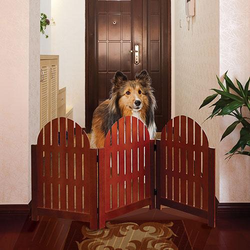 Adirondack Adjustable Wood Pet Gate