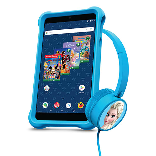 Packard Bell Disney airBook 10.1 inch Tablet and Headphones - Blue